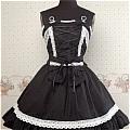 Lolita Dress (10030404-H Black)