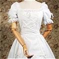 Lolita Dress (07030104-B White)