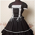Lolita Dress (Sweety,Black)