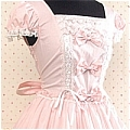 Lolita Dress (Sweety,Pink)