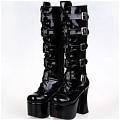 Lolita Shoes (Black 7008)