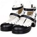 Lolita Shoes (Black 8309)