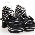 Lolita Shoes (Black 9802)