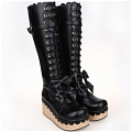 Lolita Shoes (Black 9832)