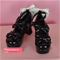 Lolita Shoes (Black 9896D)