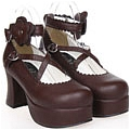 Lolita Shoes (Brown 9603)