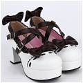 Lolita Shoes (Brown 9829)