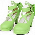 Lolita Shoes (Green 8280)