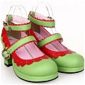 Lolita Shoes (Green 8309)