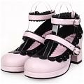 Lolita Shoes (Pink 8309)