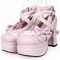 Lolita Shoes (Pink 9802)