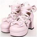 Lolita Shoes (Pink 9803C)