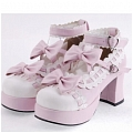Lolita Shoes (Pink 9896)