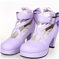 Lolita Shoes (Purple 8280)