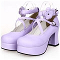Lolita Shoes (Purple 9603)
