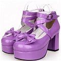 Lolita Shoes (Purple 9812)