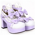 Lolita Shoes (Purple 9896)