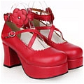 Lolita Shoes (Red 9603)