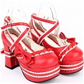 Lolita Shoes (Red 9802)