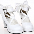 Lolita Shoes (White 8280)