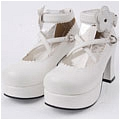 Lolita Shoes (White 9603)