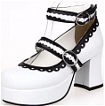 Lolita Shoes (White 8308)