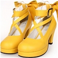 Lolita Shoes (Yellow 8280)