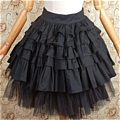 Lolita Skirt (07020300-H Black)