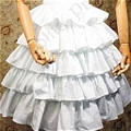 Lolita Skirt (07020301-B White)
