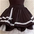 Lolita Skirt (08020300-H Black)