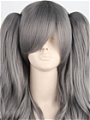 Lolita Wig (Grey,with Clips)
