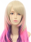 Lolita Wig (Long, Weavy, Mix Color, 01)
