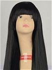 Long Black Straight Costume Wig (Alexa)