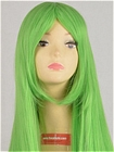 Long Wig (Green,Straight,Cc)