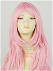 Long Wig (Pink,Curly,HS17)