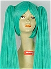 Long Wig (Green,Straight,Miku)