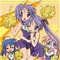 Lucky Star Chearleader Cosplay Costume from Lucky Star