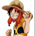 Luffy Cosplay (Movie Z) from One Piece