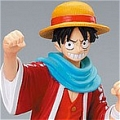 Luffy Cosplay (With Red Cloak) from One Piece