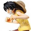 Luffy Cosplay (yellow vest) from One Piece