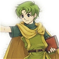 Lugh Cosplay from Fire Emblem Binding Blade