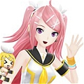 Luka Cosplay (Love Team) from Project DIVA F