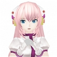 Luka Cosplay (Night Fever) Desde Hatsune Miku Project Diva Extend