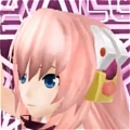 Luka Headphone (Night Fever) from Hatsune Miku Project Diva Extend