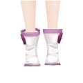Luka Shoes (Night Fever) from Hatsune Miku Project Diva Extend