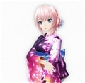 Luka Wig (Yukata Style) from Project DIVA F