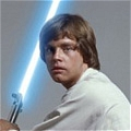 Luke Skywalker Cosplay von Star Wars