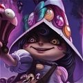 Bittersweet Lulu Cosplay Da League of Legends