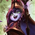 Lulu Sorceress Costume Da League of Legends