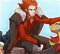Lysandre Cosplay from Pokemon X and Y